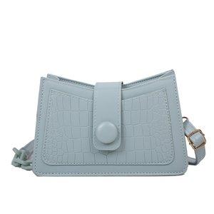 tote de couro pequeno PU crocodilo bolsa de ombro bolsa axila Bag For Women 2020 nova aba verão designer de viagem baguette