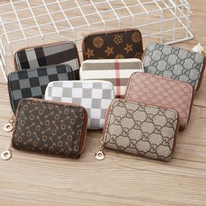 Nuove donne di stile Mini Zipper borsa del portafoglio signore PU Portafoglio in Pelle tasca per banconote della moneta Sacchetti Charm Girls Clutch