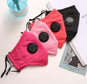 In Stock PM2.5 Anti Haze Mouth Cover Mask Dustproof Protective Masks with Breath Valve outdoor Cycling Face Mask FFA3887