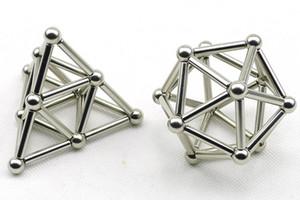 36PCS Sticks magnético innovador 27PCS bolas de acero de juguete bloques de construcción de juguete fijado para el alivio de presión juguetes de la diversión