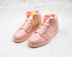 2020 Melhor venda alta Coral Tênis de basquete pó para homens do esporte de luxo Calçados New Sneakers a maioria dos treinadores populares 852542-600