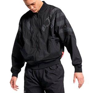 X 스포츠 브랜드 대형 윈드 디자이너 재킷 스트리트 화이트 블랙 Sweatershirt 코트 지퍼 후드 얇은 배트 윙 B100028L