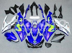 4Gifts Nouvelle Injection ABS Moule Moto Carénage Kit Pour YAMAHA R3 R25 2015 2016 15 16 Bonne qualité Carénages Carrosserie ensemble Bright bleu