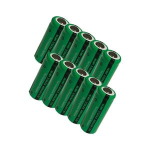 atteries Batteries rechargeables 10Pcs rechargeables Ni-MH 2 / 3AAA 1.2V 400mAh Flat Top remplacement pour solaire Fleurs à distance Contro ...