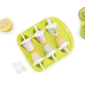 Xiaomi Youpin QUANGE LS010102 Home Kitchen Ice Cube Tepsi Küçük Balina Şekli Buz Kalıp 6 Delik Food Grade Pudding Kalıp 3020640C7