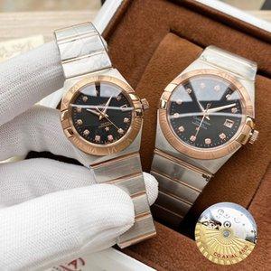 Созвездие 123.20.24.60.55.001 Женщины Мужчины классический Повседневный часы Top Brand Luxury Lady мужские наручные часы высокого качества Мода наручные часы