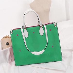 designer handbags Luxury big letter flower Women handbag fashion Women totes Size 41x34x19 cm model M44571