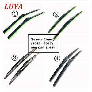 """LUYA Quatro tipos da lâmina de limpador no limpador de pára-brisa do carro para o tamanho de Toyota Camry (2012 - 2017): 26 """"18"""""""