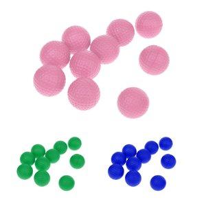 30 Piezas PU suave esponja de espuma de entrenamiento de golf Pelotas de golf bolas de la práctica