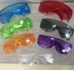 Protective Glasses Anti Dust Proof Protection Goggles Eyewear Eye Glass Work Protect Safety Glasses Eye Protection for adult KKA7782