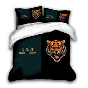 3D-Designer-Bettwäsche-Set King-Size-Luxus-Bettbezug Kissenbezug Queen-Size-Bettbezug Designerbett Decke setzen D1