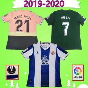 19 20 RCD Espanyol Futbol Formalar WU LEI 2019 2020 Campuzano Ferreyra VARGAS Camisa ROCA Calleri GRANERO DARDER PEDROSA formalarını
