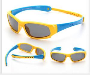 Neue Silica Gel Kindersonnenbrille Polarized Riding Sports Sunglasses Baby's Sunglasses