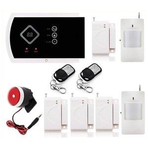 Inicio de alarma de seguridad del sistema LED de visualización G10A sistema de alarma inalámbrica GSM SMS admitidas aplicación de control de llamada Zona Modificar