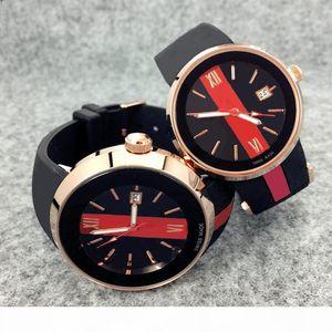 2019 Top Fashion Luxury Women Watches Men Chronograph Quartz Watch Sport Date high quality Wristwatches top design Nice clock rubber band
