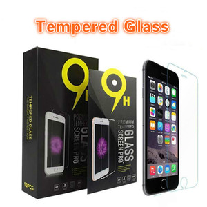 Screen Protector For iPhone 11 12 Pro Max XS Max XR 7 8 Tempered Glass For Samsung A20 A30 A50 Moto G7 Z2 Protective Film With 10 in 1 Box