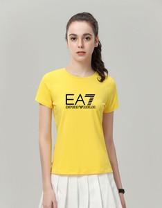 Vente en gros de haute qualité Hommes Femmes MSGMarmani T-shirt d'été Couple Marque Lettre Imprimé Hauts Tee Casual manches courtes en coton O-Neck Tshir