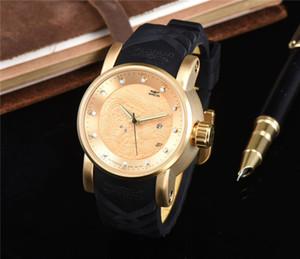 INVICTA S1 ejderha Tasarım Erkekler İzle Geniş Dial Silikon Kayış Kuvars saatı Relojes En hediye ücretsiz kargo invicta relógio