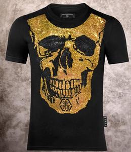 20ss Sommer 9PhilppPLEINHohe Qualität aus reiner Baumwolle Männer und Frauen T-Shirt Art und Weise Hip-Hop-T-Shirt