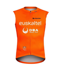 2020 Euskaltel Euskadi DBA PRO TEAM ONLY SHORT SUMMER SPRING SLEEVELESS VEST CYCLING JERSEY CYCLING WEAR SIZE:XS-4XL