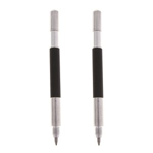 2 Pcs Engraving Pen Portable Scriber Engraving Tool For Metal Wood Glass Stone Plastic
