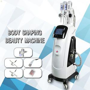 2020 Duplo Cryo cool alças Body Sculpting Cryo lipólise emagrecimento máquina cavitação RF Lipo Laser Fat Slimming a máquina frete grátis