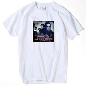Juice DVD film Tupac 2Pac divertente T-shirt T-shirt Top Top Quality magliette Gli uomini le donne o collo Stampa Camicia Uomo Corto