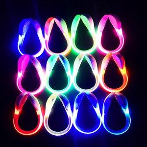 أدى الحذاء كليب ليلة ضوء سلامة تحذير ضوء فلاش ساطع لتشغيل الدراجة ركوب الدراجات في الهواء الطلق أداة مفيدة LED مضيئة لعب الاطفال LJJA3668-13