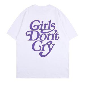 T-shirt d'été d'origine hommes et Loose Women Casual Harajuku T-shirt oversize T-shirts en pur coton blanc Streetwear