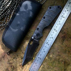 Strider SMF D2 coltello lama piegatrice palla coltello ralla TC4 fiamma maniglia struttura esterna di sopravvivenza lama di caccia tattica