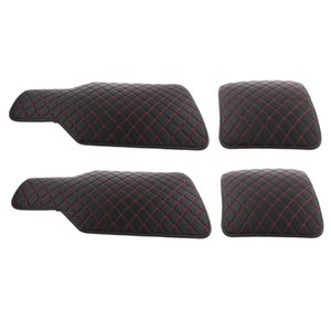 4Pcs Set PVC Waterproof Universal Car Floor Mats SUV Carpet Front &Rear Mat