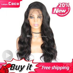 Womens Wigs All Colors Body Wave Brazilian Full Lace Human Hair Wigs Best Remy Wigs Hand Made Luxury Blonde Full Lace Wig Hair