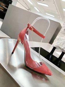 Yeni Signer Ayakkabı spor ayakkabıları Elbise Ayakkabı Kate Stiller Yüksek Topuklar Topuklar Gerçek Deri Noktası Burun Kutusu ile Kauçuk boyutunu pompaları