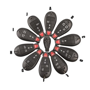 Keyless Entry Smart Remote Key Case запись Fob Key Shell Обложка для Chrysler Town Country Dodge Grand Caravan
