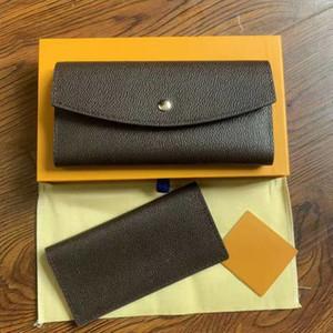 designer wallet Women's Wallet Zipper Bag Female Designer Wallet Purse Fashion Card Holder Pocket Long men Women Bag with box