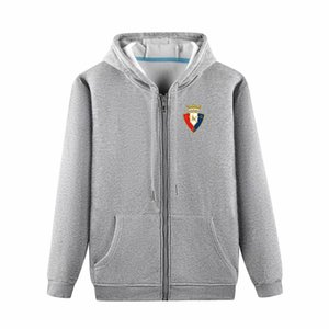 2020 osasuna Boutique-Jacken-Mantel Luxus Sweat Shirt Hoodie Langarm Herbst Sport Zipper Marke Windjacke Fußball Mantel