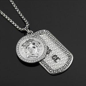 2020 Hip Hop designer jewelry women necklace sterling silver jewelry Pendant necklaces mens necklace Jewelry Christmas Gift