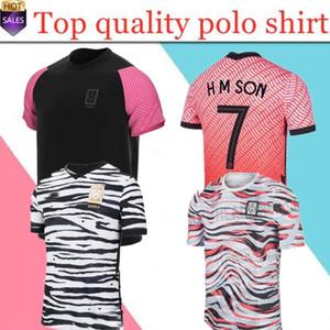 rojo casero 2020 Corea del Sur SON camisas del fútbol de 20 21 Corea del Sur distancia negro HYUNG KIM LEE KIM Ho Son JERSEY Fútbol hombres personalizados niños