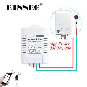 Cheap Home Automation Moduli 30A Wifi relè interruttore AC 110V 220V 1CH fai da te Automation Moduli Smart Home ricevitore e Universal