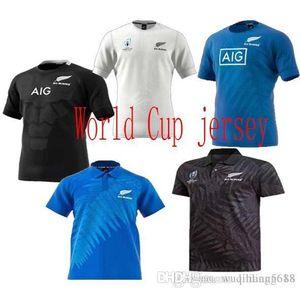 лучшее качество чемпионат мира по регби Джерси Новая Зеландия все черные регби майки дома и на выезде маори Национальная регбийная рубашка