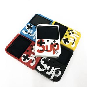 Sup Mini Consola de videojuegos portátil con 400 juegos clásicos Reproductor de juegos nostálgicos portátiles Pantalla de 3,0 pulgadas de salida Av