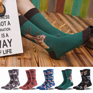 Dress calzini per gli uomini colorato divertente folle novità Fun Dress Socks Confezione Bonangel fredda modello Crew regalo per gli uomini