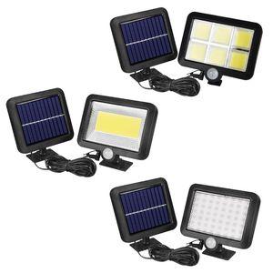 114 LED Solar Power PIR Motion Sensor Wall Lights Outdoor Garden Security Lamps