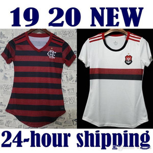 새로운 CR Flamengo 2018 2019 2020 여자 축구 유니폼 18 19 20 홈 떨어져 빨간색 Camisa de futebol DIEGO 여자 축구 셔츠 VINICIUS JR S-XL