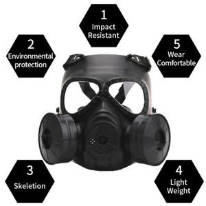 2020 yeni stil Gaz Maskesi Solunum CS AEkipmanı Cosplay Koruma Cadılar Evil için Yaratıcı Sahne Performansı Prop Maske
