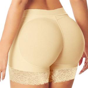 Kadınlar yastıklı Butt kaldırıcı Külot Vücut Şekillendirici Sahte Kalça Shapwear İç özetleri Artı boyutu Shaper