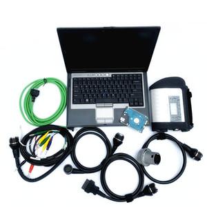 2019.07 Ile tam Çip MB Yıldız C4 Teşhis Aracı son yumuşak-eşya hdd ile d630 4G laptop ile mb teşhis programlama için aracı