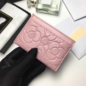 Новое поступление мини-кошельки 6 цветов ультратонкий держатель карты маленький кошелек из натуральной кожи кожаный чехол для карт 6Slots женская сумка для карт0074a82286