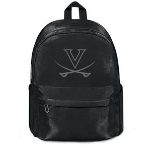 Virginia Cavaliers Basketball gary logo Fashion Sports Reusable Wool Shoulder Backpack Design Crazy Best Woollen backpack Golden blak