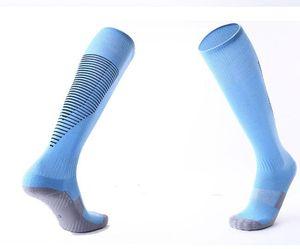 2019 erkek diz futbol çorap üzerine Yetişkin çocuk kaymaz havlu alt uzun tüp çorap rahat aşınmaya dayanıklı spor çorap kalınlaşmış